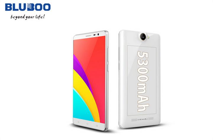 Bluboo X550, 5300 mAh batarya kapasitesi ile dikkat çekiyor