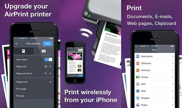 iOS destekli Printer Pro ücretsiz yapıldı