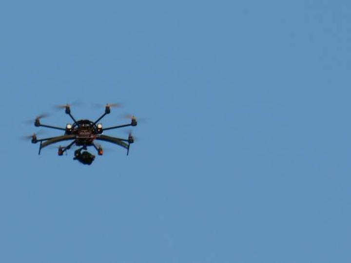 Biber gazını artık insansız hava araçları sıkacak