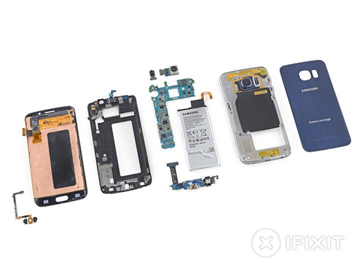 iFixit'in sıradaki konuğu Samsung Galaxy S6 Edge oldu