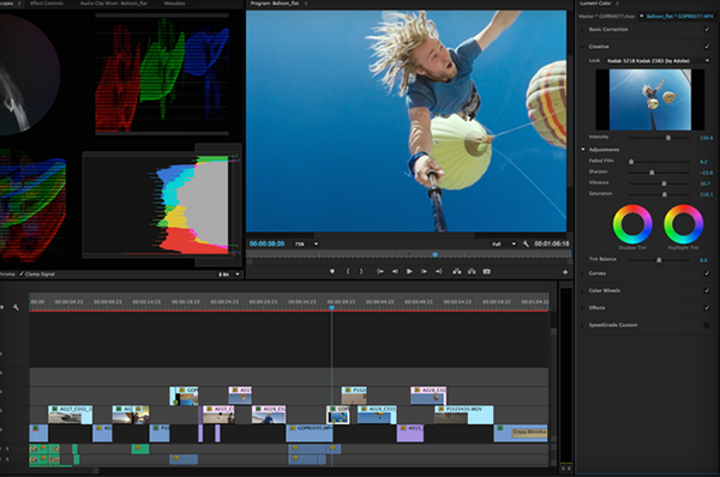 Adobe, NAB fuarı öncesi Premiere Pro güncellemesi ile yeni uygulamalarını görücüye çıkarttı