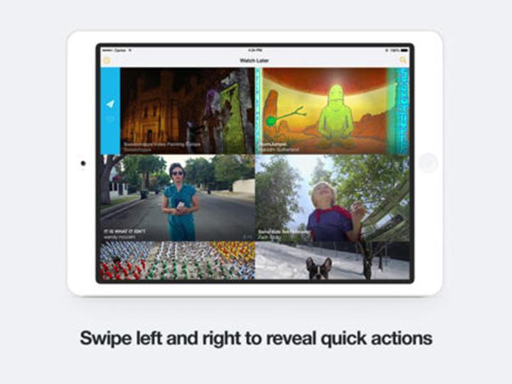 Vimeo'nun iOS uygulaması güncellendi