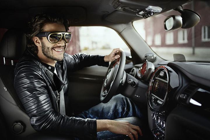 Mini, sürücülere ekstra bilgiler sağlayan arttırılmış gerçeklik gözlüğünü duyurdu