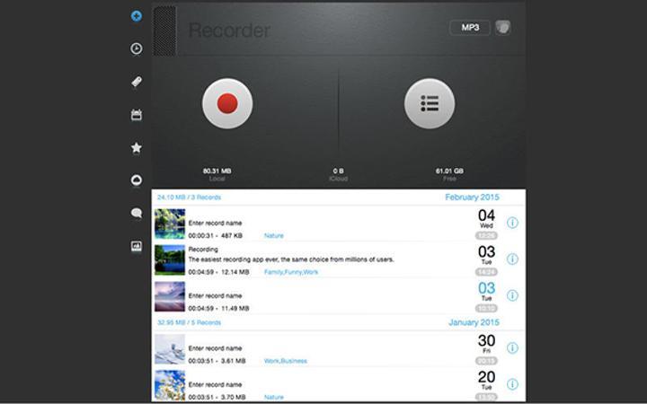 OSX platformunun ses kayıt uygulamalarından Recorder Pro ücretsiz yapıldı