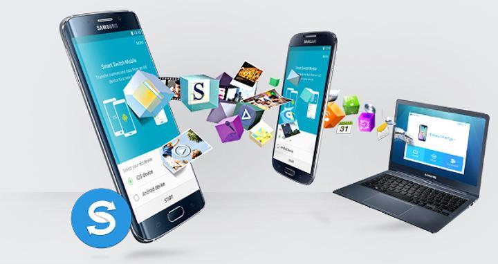 Smart Switch Mobile ile Galaxy S6 için rehber transferi