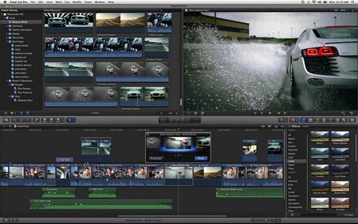 Apple, Final Cut Pro X, Motion ve Compressor uygulamaları güncelledi