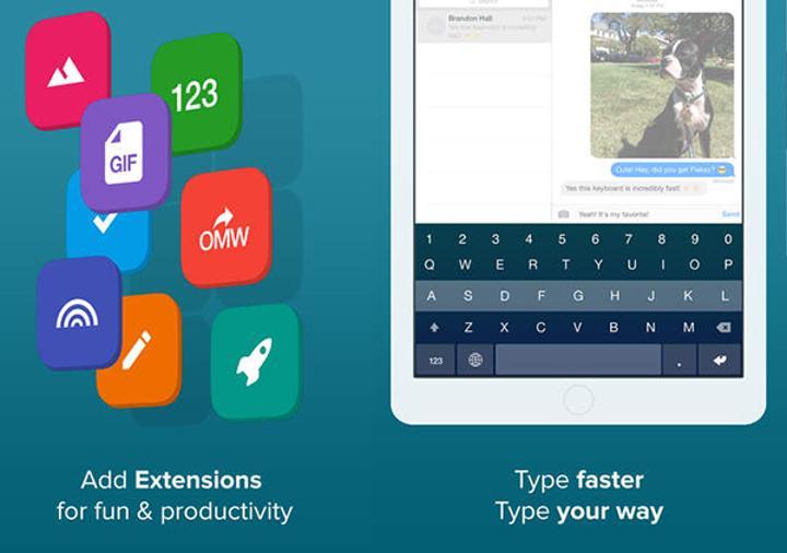 Fleksy klavye iOS tarafında ücretsiz yapılarak GIF desteğiyle güncellendi