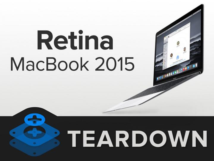 iFixit'in elinden 12-inçlik Retina Macbook da kurtulamadı