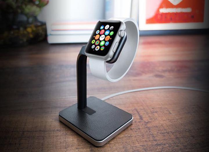 Apple Watch için stand üniteleri çeşitleniyor. Yeni çözüm Mophie Watch Dock