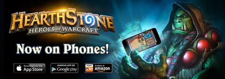 Hearthstone: Heroes of Warcraft, iOS ve Android telefon desteği ile güncellendi