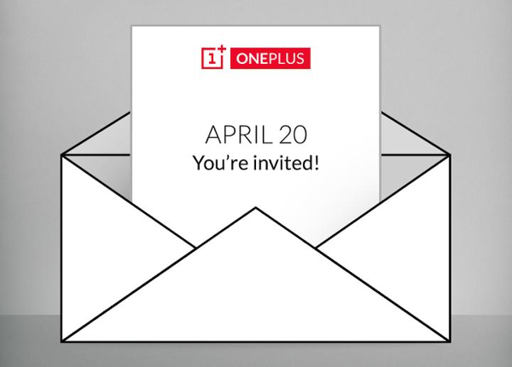 OnePlus 20 Nisan'da etkinlik düzenleyecek