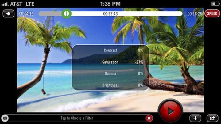 Fotoğraf ve video odaklı iOS uygulaması Video Filters artık ücretsiz