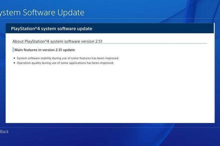 PlayStation 4 için 2.51 yazılım güncellemesi yayınlandı