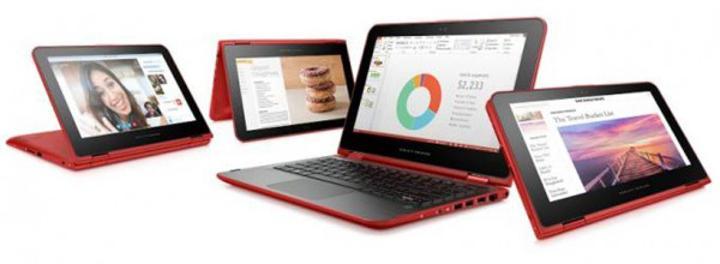 HP'nin Pavilion x360 serisi dizüstü bilgisayarları güncellendi