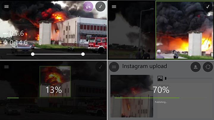 Windows Phone için yeni uygulama: Video Upload to Instagram