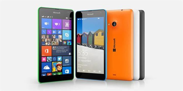 Microsoft Lumia 535 en popüler Windows Phone modeli olmaya aday