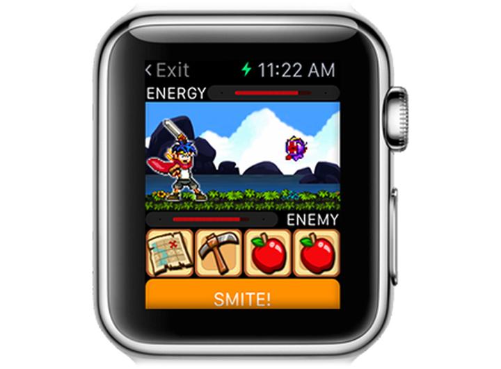 Watch Quest! Heroes of Time oyunu Apple Watch'a özel indirmeye sunuldu