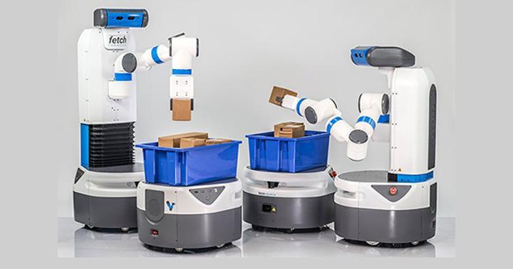 Fetch Robotics'in
