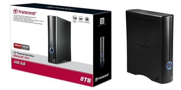 Transcend'den StoreJet 35T3 harici disk sürücüsü