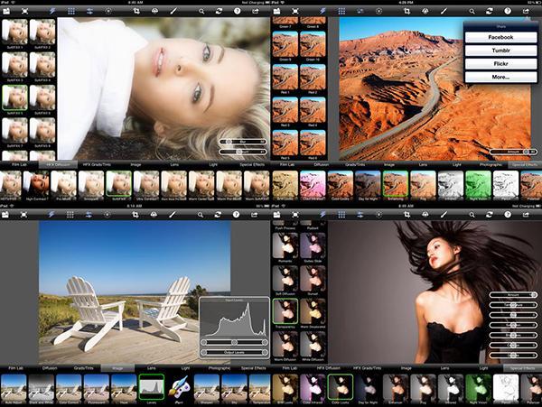 Tiffen, iOS uyumlu Photo FX ve Photo FX Ultra uygulamarını ücretsiz yaptı