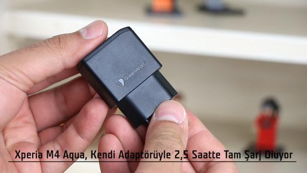 Sony Xperia M4 Aqua video incelemesi