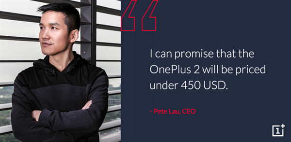 OnePlus 2'nin fiyatı belli oluyor: