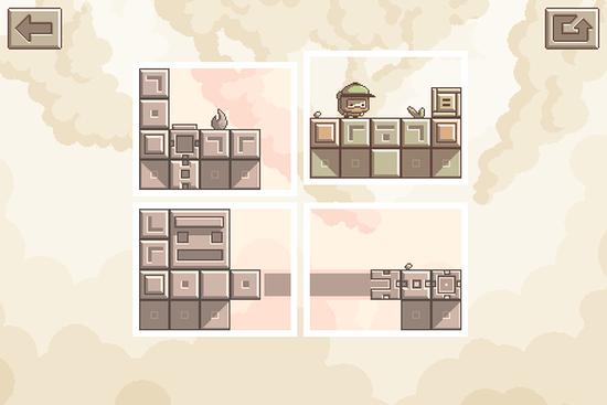 Shifter bulmaca oyunu Framed mantığını basite indirgiyor