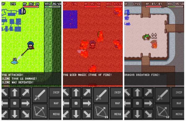 Alchemic Dungeons piksel tabanlı yeni bir RPG oyunu