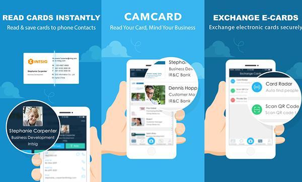 iOS uyumlu CamCard uygulaması ücretsiz yapıldı