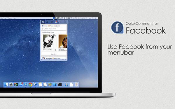 Mac için MenuTab for Facebook artık ücretsiz