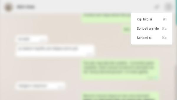 Web için WhatsApp faydalı özellikler kazandı