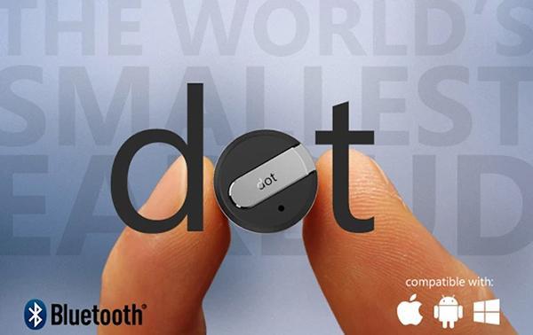 Dünyanın en ufak Bluetooth kulaklığı: Dot