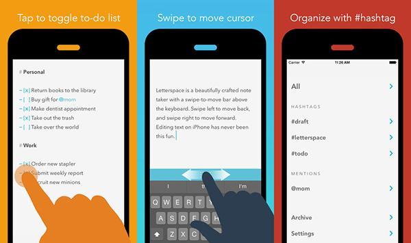iOS uyumlu Letterspace artık ücretsiz