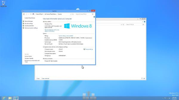 Intel işlemcili Asus Zenfone 2 üzerinde Windows 7 çalıştırıldı