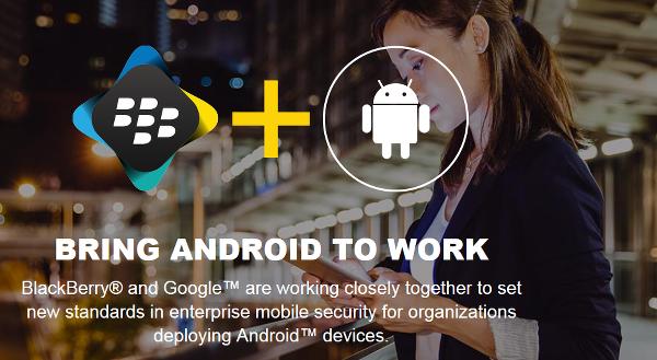 BlackBerry ve Google'dan büyük işbirliği