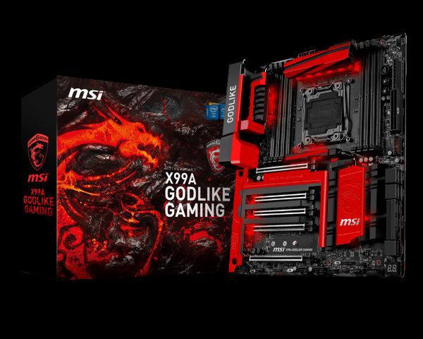 MSI X99A Godlike Gaming anakartı detaylanıyor
