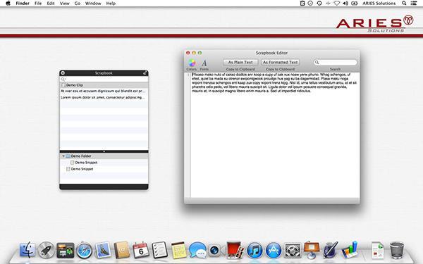Mac için hazırlanan Scrapbook ücretsiz yapıldı