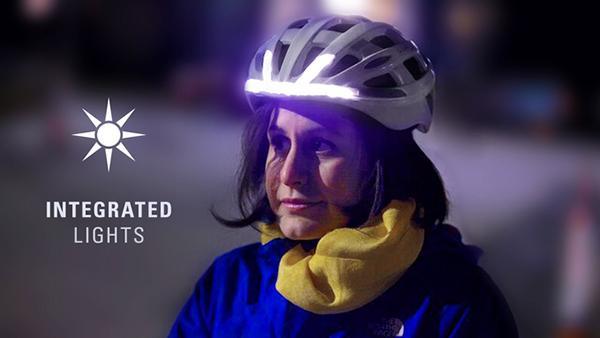Yeni jenerasyon bisiklet kaskı: Lumos