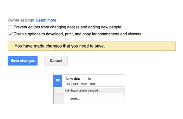 Google Drive'a güvenlik odaklı yeni özellik!