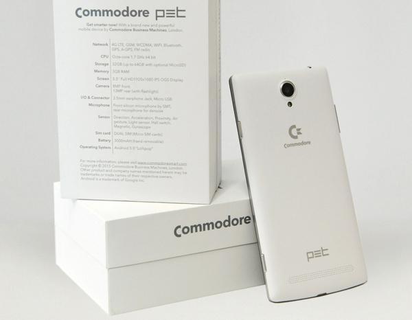 Commodore PET akıllı telefon oldu
