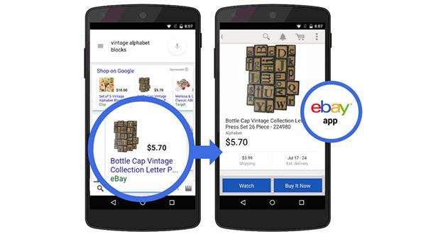 Google'ın mobil arama sonuçlarına