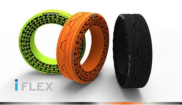 Hankook, havasız lastiği iFlex'in yüksek hız testlerini başarıyla tamamladı