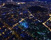 Bulgaristan'ın en büyük ikinci şehri olan Filibe'nin Svetlin Marinov tarafından gece çekilmiş bu görüntüsü, Dronestagram kullanıcıları tarafından ikinci seçildi.