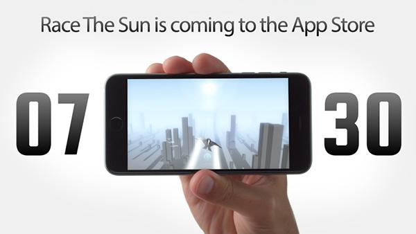 Race the Sun'ın mobil sürümü bu ay içerisinde yayımlanacak