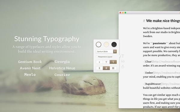 Mac platformuna sadeliği hedef alan yeni metin uygulaması: Typed