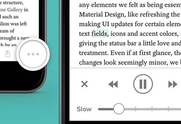 iOS için Pocket sesli okuma özelliğiyle güncellendi