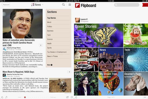 iOS ve Android için Flipboard güncellendi