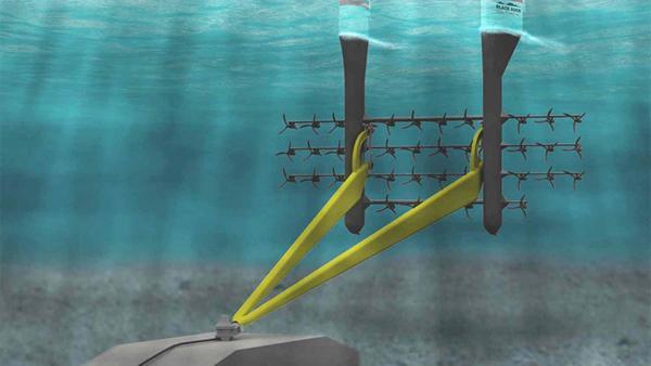 Okyanus Akıntısından Enerji Üreten Uçurtma Tipi Türbin