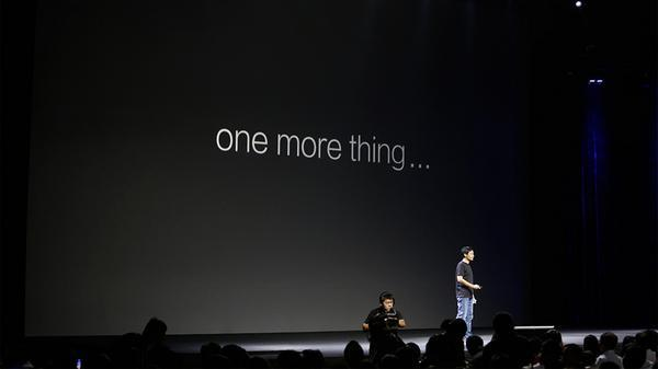 Xiaomi : One More Thing söylemi sadece şakaydı