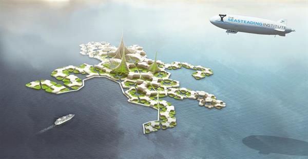 Seasteading Institute yüzen şehirler kurmayı planlıyor